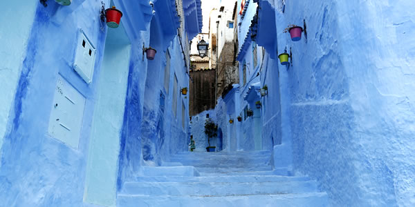 Travel of lost city: The Blue City of Morocco