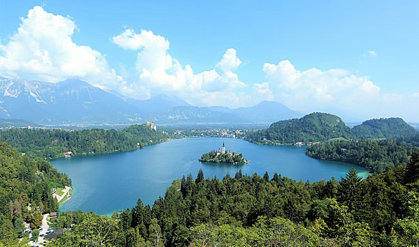 Traveler of Lost City: Bled, Slovenia