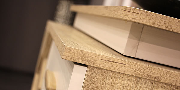 Showcases of Tece Edgebanding at Turkish Furniture Fair